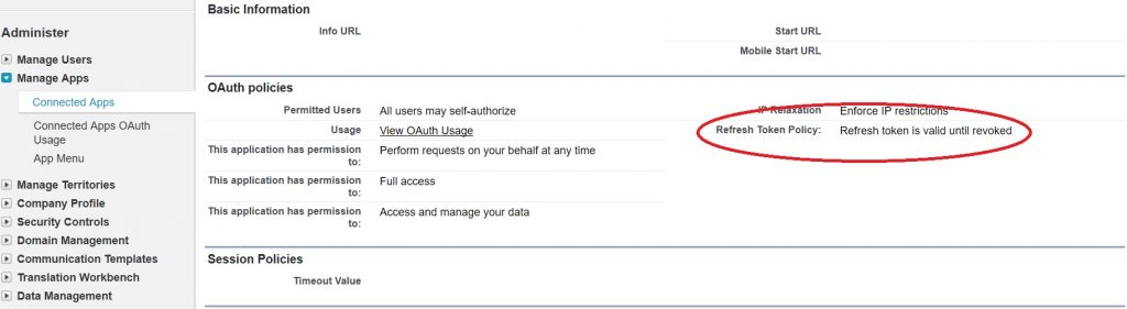 Why my SFDC OAuth2 token pair gets revoked?   Hotovo